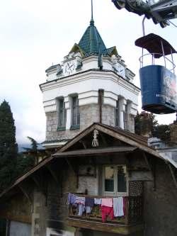Фуникулер на холм Дарсан, Ялта