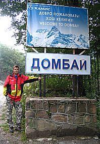 Иван Коваленко, Кавказ, Домбай