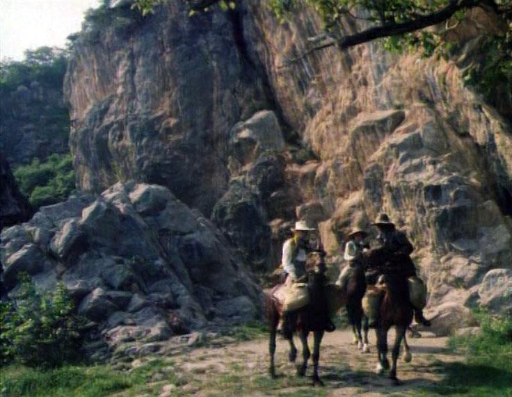 Фильм Сердца трех в Никитской расселине