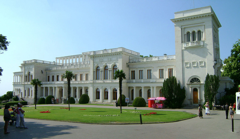 Ливадийский дворец. Сталин и Крым