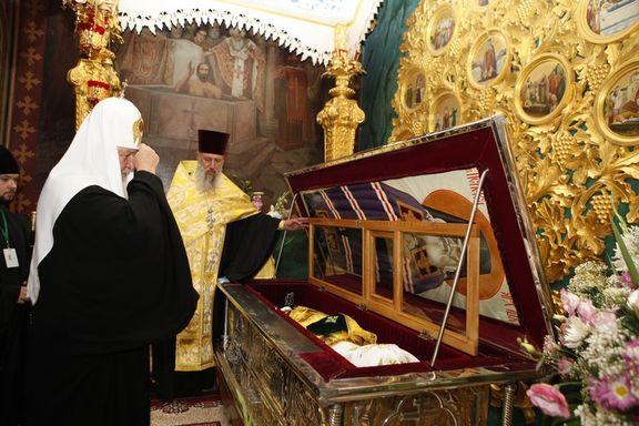 В Свято-Троицком монастыре, где покоятся мощи святителя Луки