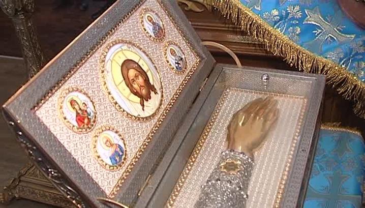 В Колу доставлены мощи Святого Луки