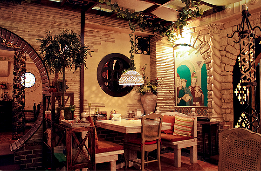 Необычные кафе и другие заведения