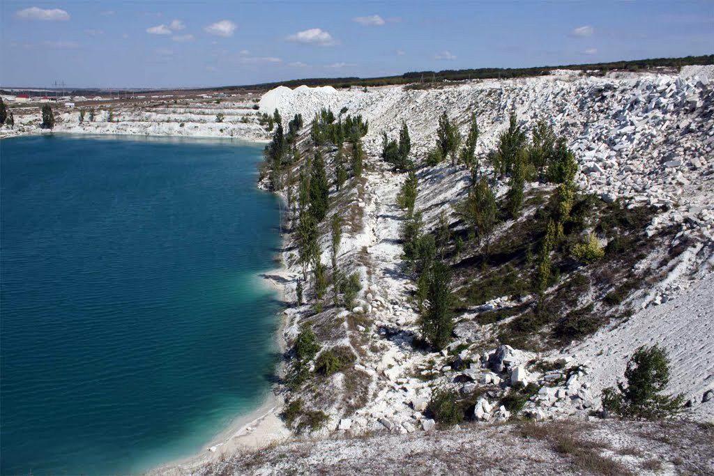 История формирования необычного озера