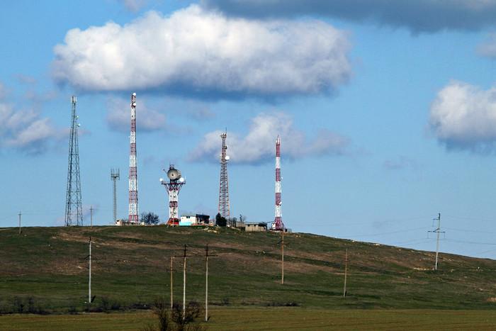 Вышки оператора МТС в Крыму