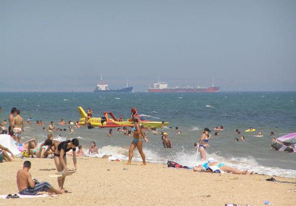 Городской пляж Керчи