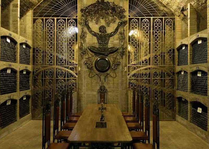 Дегустационный зал винзавода Коктебель