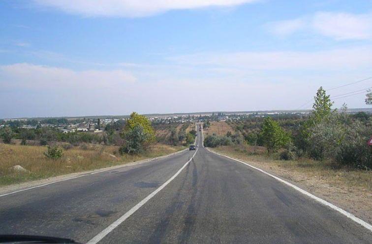 Дорога в Песчаное
