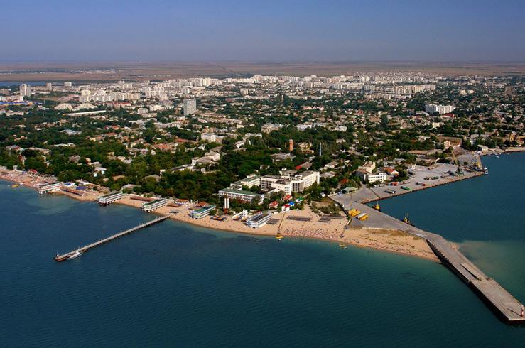 Западный берег Крыма. Евпатория
