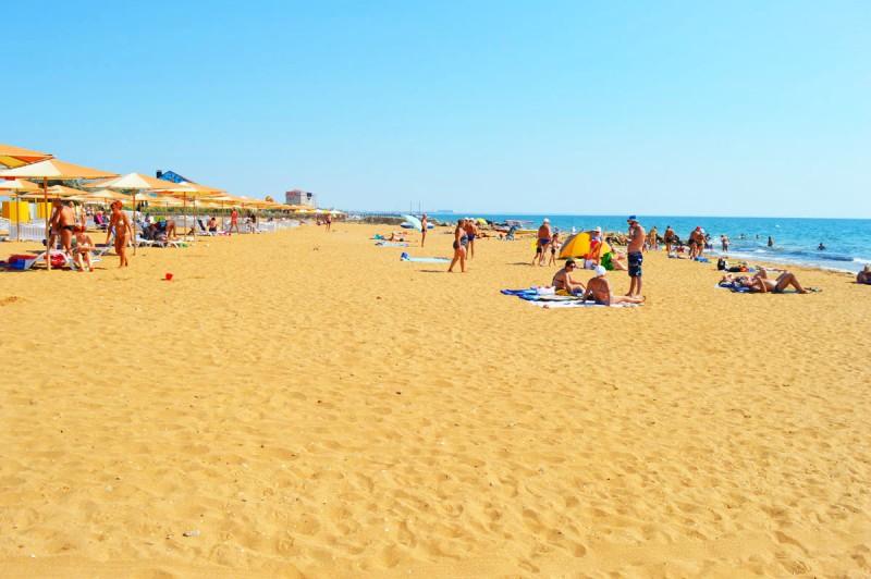 Золотой Пляж. Феодосия
