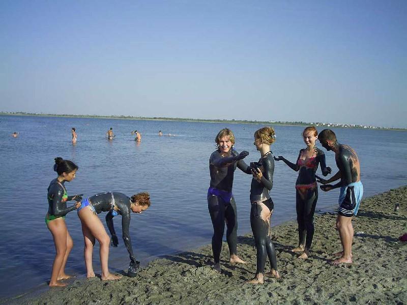 Лечебные грязи Сакского озера