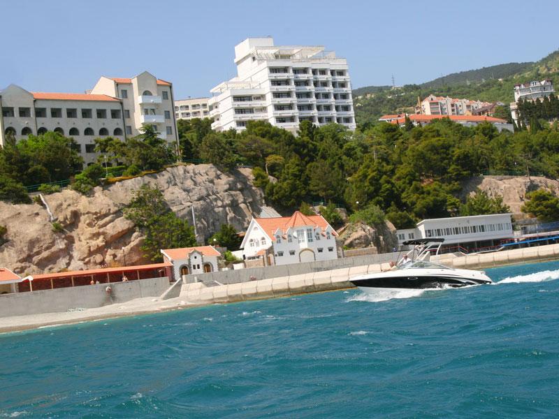 Отель Сосновая Роща, Гаспра, Крым