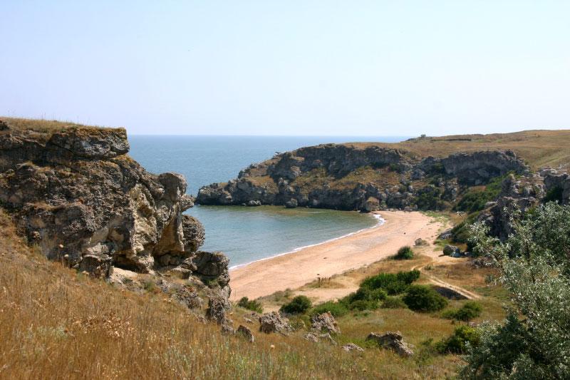 Пляжи Керченского полуострова