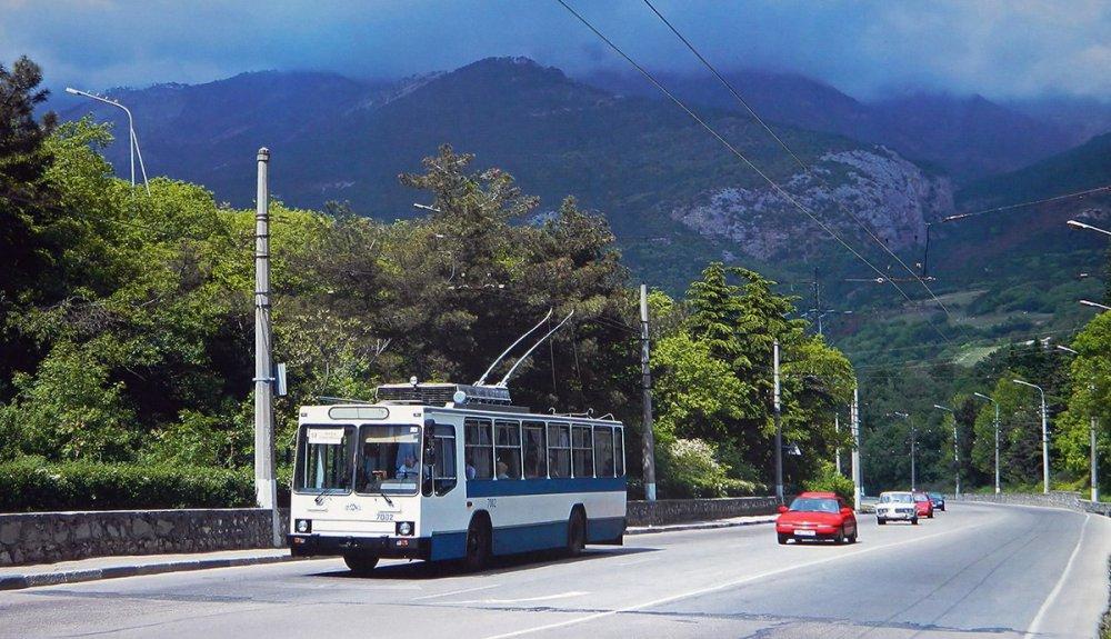 Троллейбусный маршрут Симферополь-Ялта