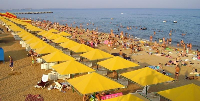 Феодосия, Золотой пляж