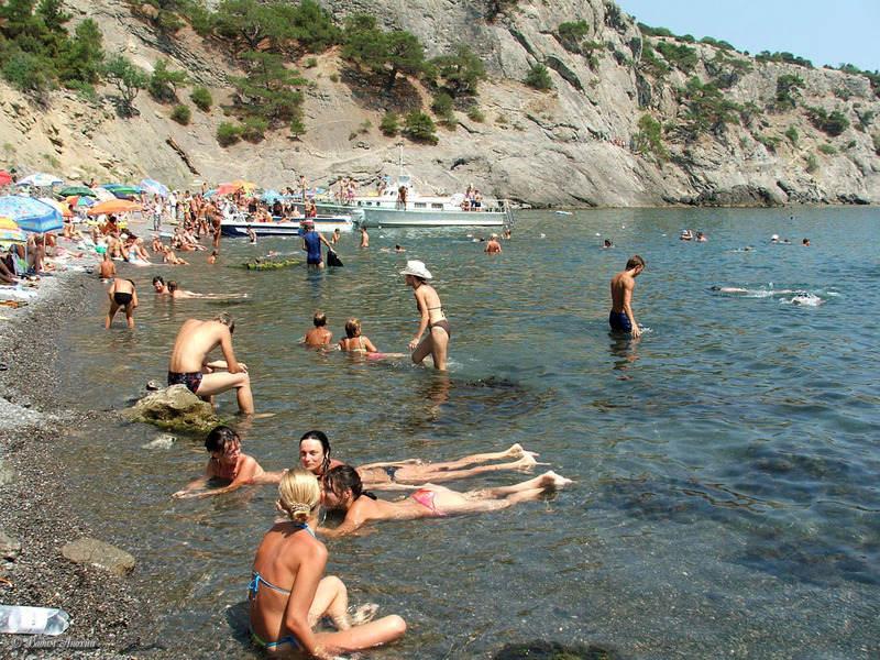 Царский пляж а Судаке