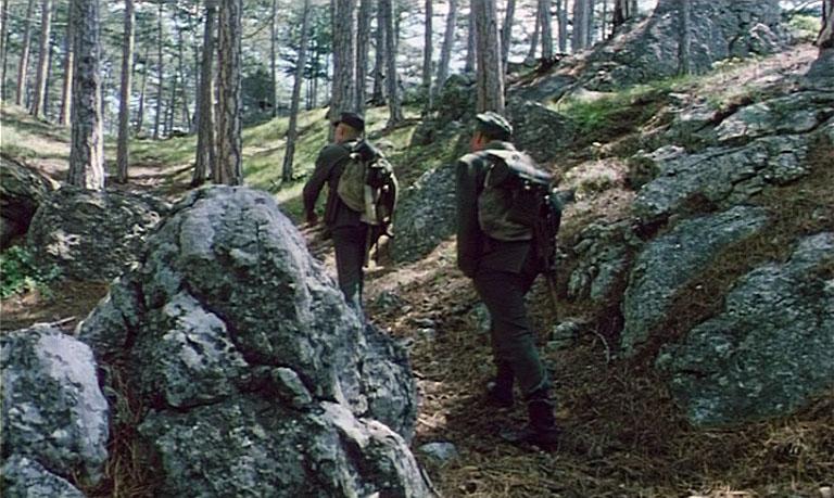 В съёмках было задействовано не только само плато Ай-Петри, а и его южные склоны.