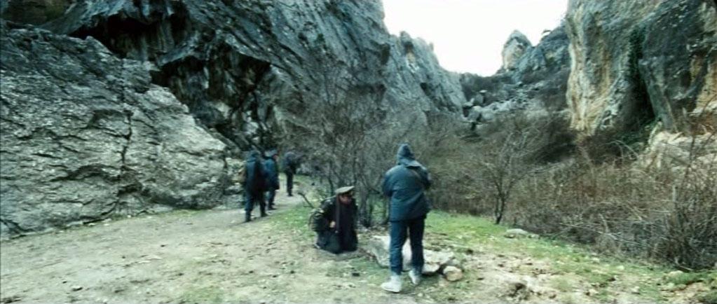 """""""Таёжные леса"""" режиссёр нашёл в Никитской расселине."""
