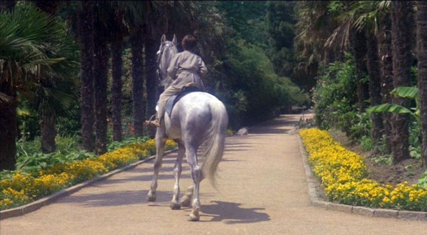Знакомство Мио с Мирамисом и Юм-Юмом - это уже Никитский ботанический сад.
