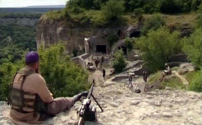 Логово Фахима находилось возле Тайных ворот (Кучу-Капу) в Чуфут-Кале.