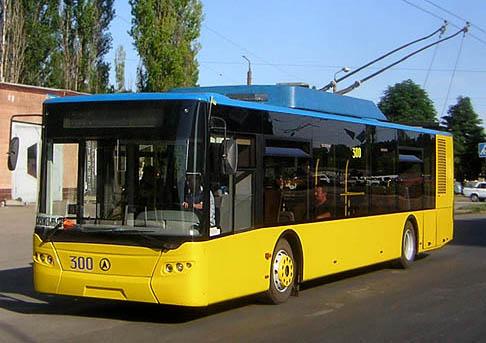 Поездка тролейбусом в Ялту