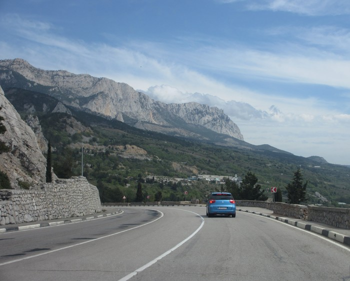 Дорога в Ялту