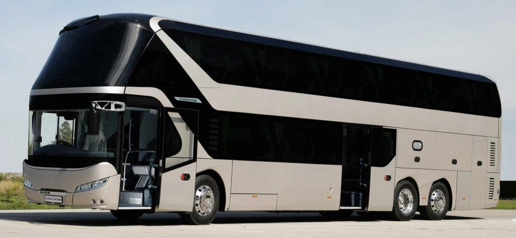 Классический автобус как основа поездки