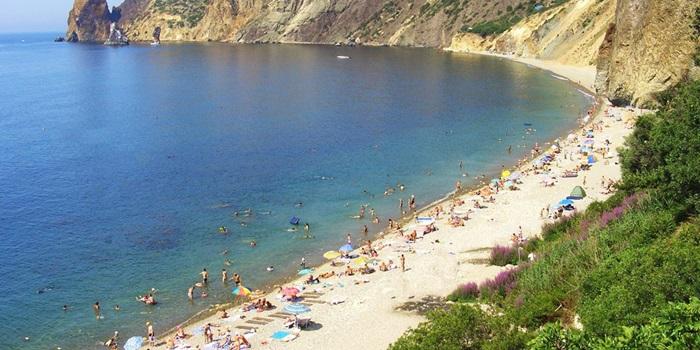 Особенности крымских пляжей