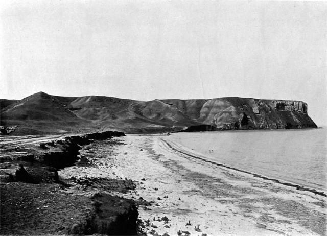 Село Альма-Тамак (ныне Песчаное). Фото 1904 года