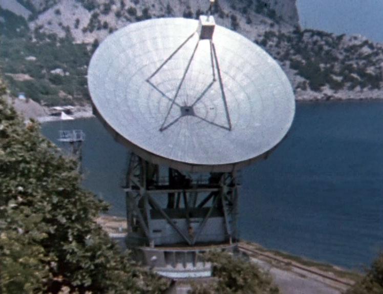Знакомство Толика с островом Волшебника началось с радиотелескопа РТ-22 в Кацивели.