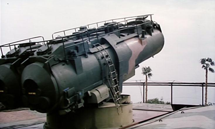 Каким-то непостижимым образом удалось попасть на сверхсекретный береговой стационарный ракетный комплекс «Утёс» на мысе Айя.