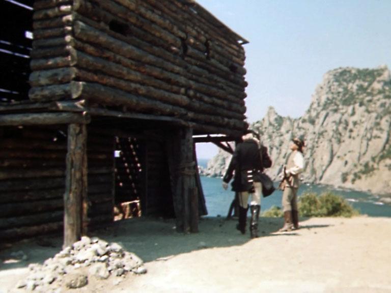 Форт построили прямо на Капчике.