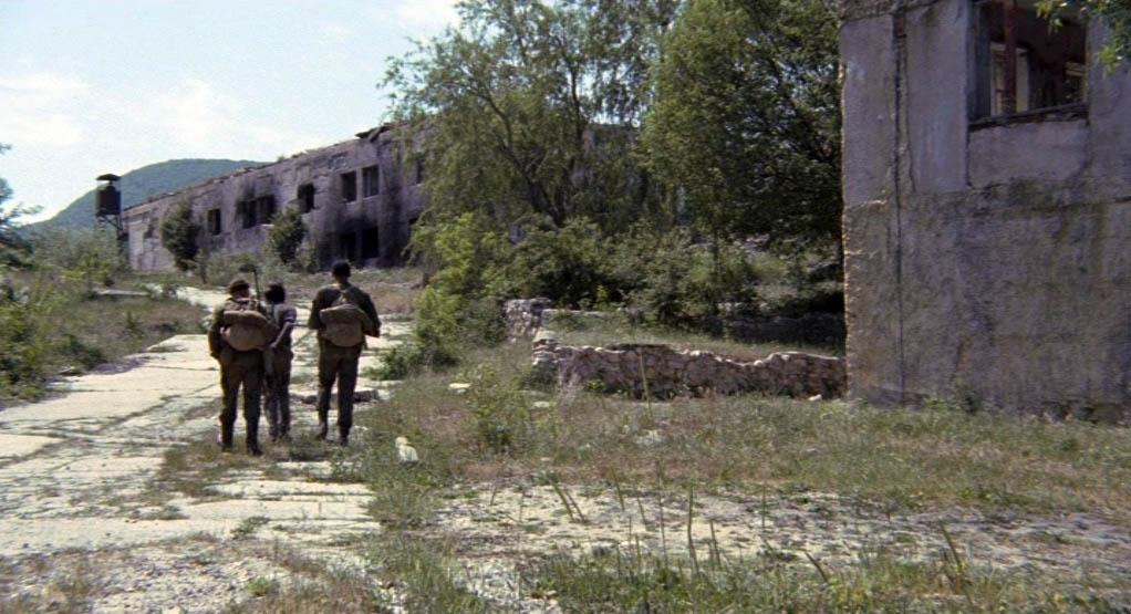 База российских войск - село Тыловое под Севастополем.