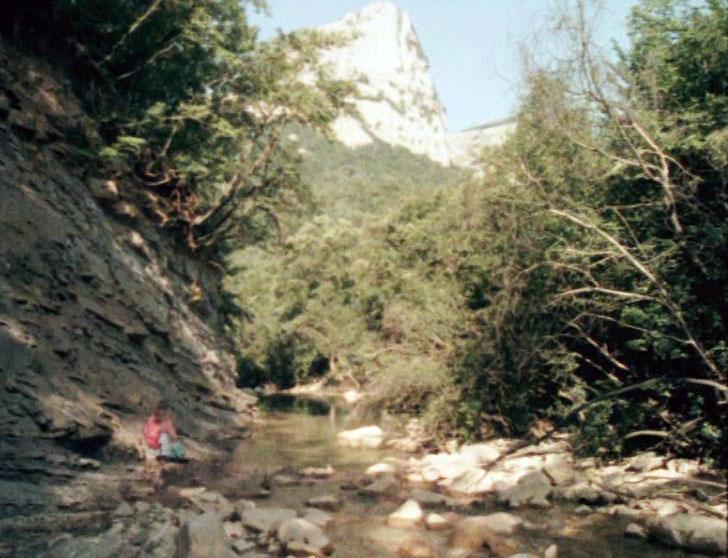 Вид на гору Сююрю-Кая со стороны Большого каньона.