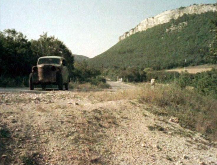 Участок дороги Куйбышево-Высокое.
