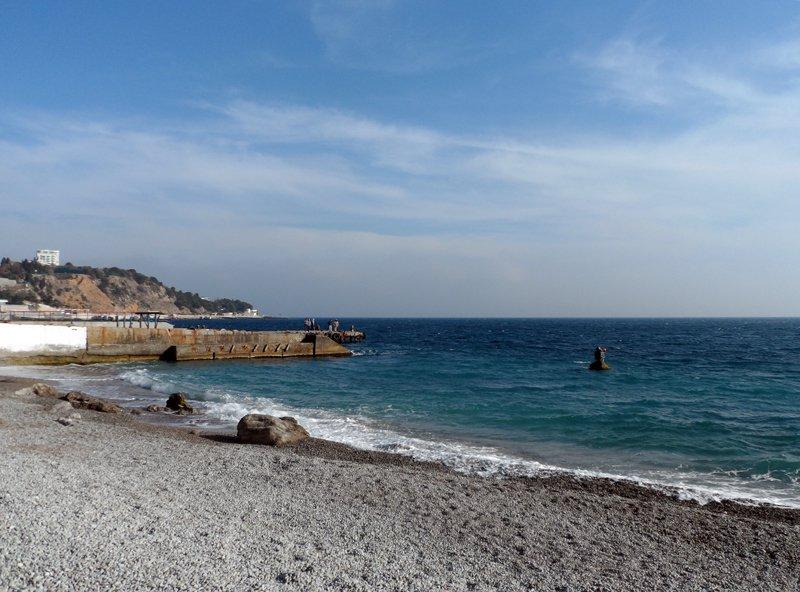 Мисхор пляж Русалочка