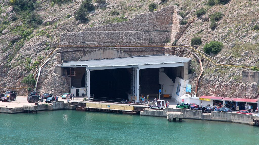 Музей подводных лодок в Балаклаве