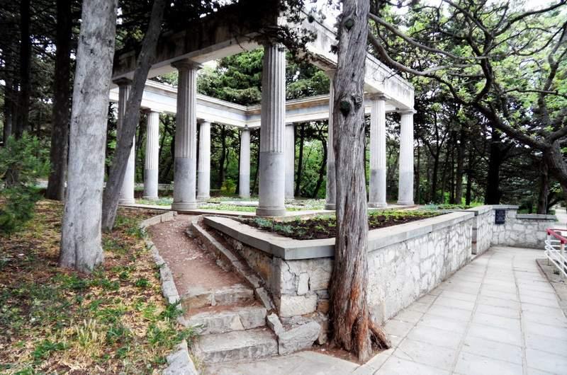 Харакский парк на мысе