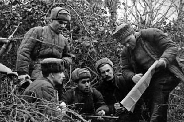 Крымские партизаны