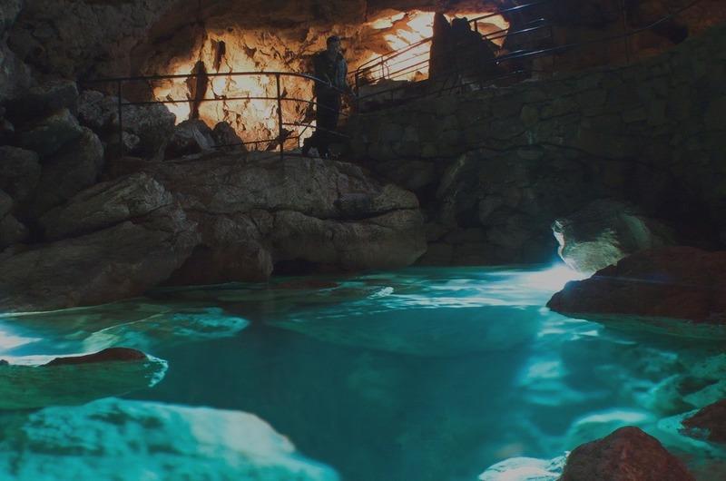 Озеро в Красной пещере
