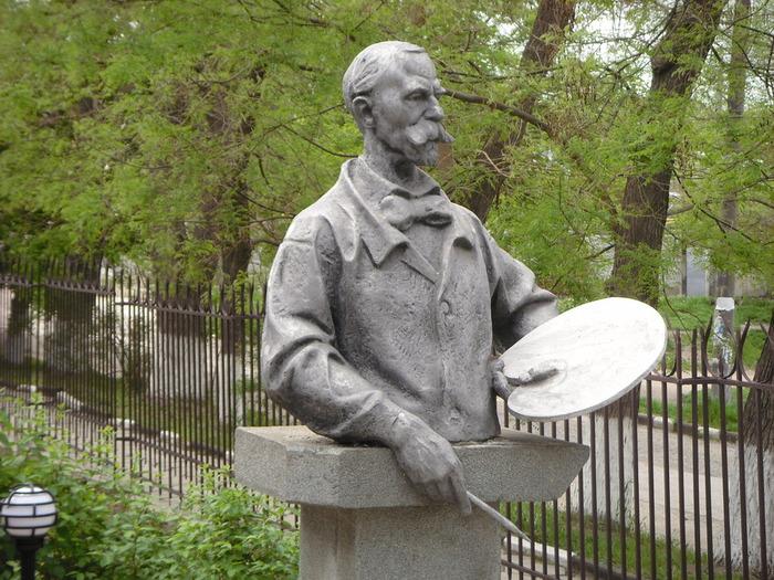 Памятник Н.С. Самокишу