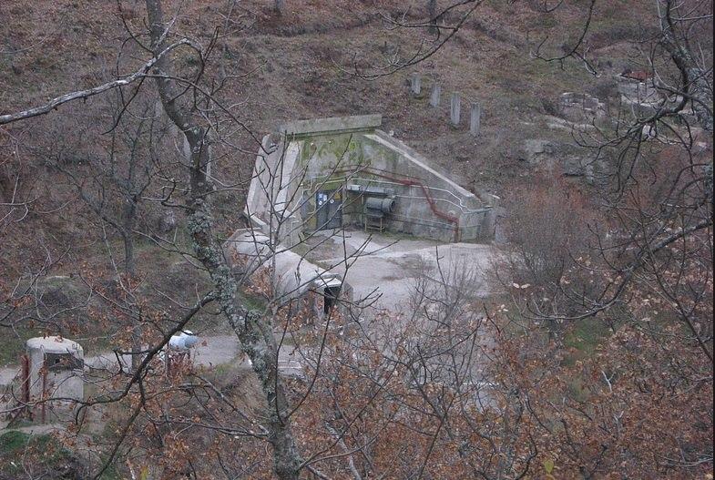 Хранилище ядерного оружия, объект Феодосия-13