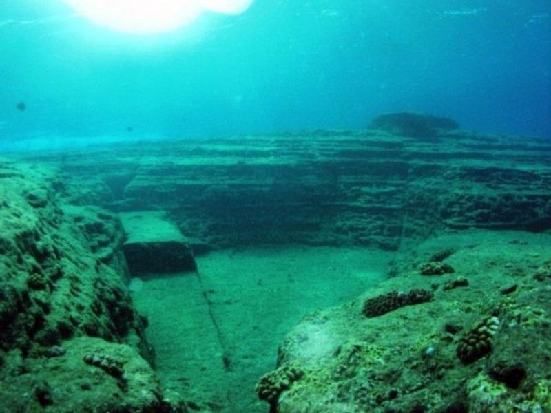 Античный город Акра на дне Черного моря в Крыму