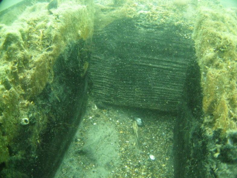 Древнее городище на дне Черного моря