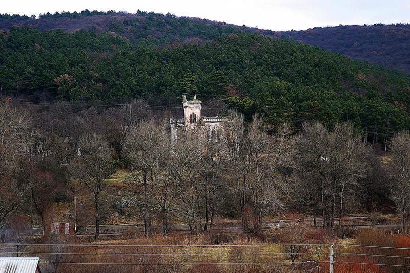 Замок и Кесслеровский лес