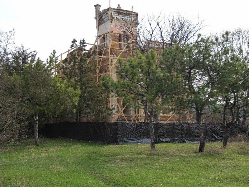 Начало реставрации усадьбы Кесслера, 2011 год