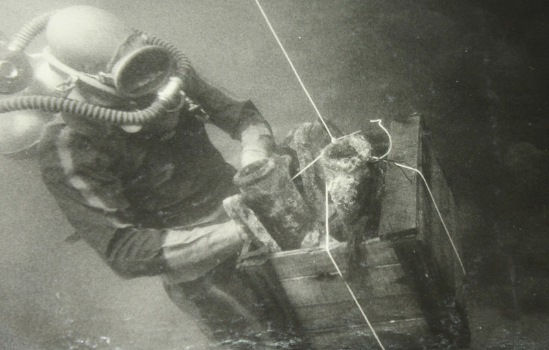 Подводная экспедиция в акватории Херсонеса. 1960-е годы