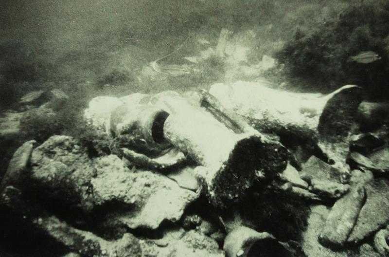 Подводные съемки археологической экспедиции в районе Херсонеса