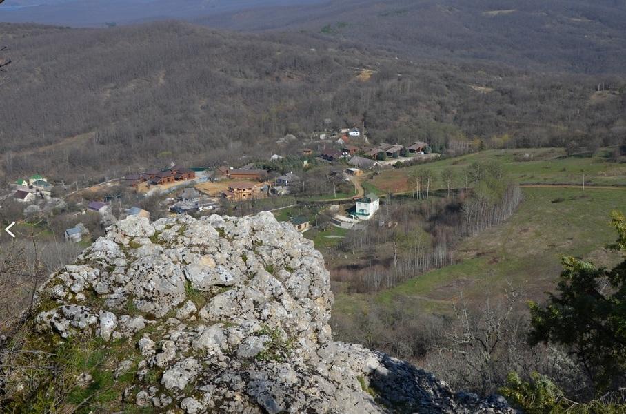 Вид на село Высокое