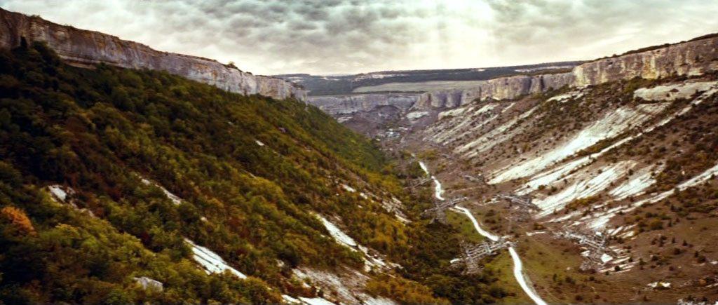 Долина Биюк-Ашлама в Бахчисарайском районе - одно из мест съемок